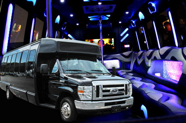 Party Bus - Legacy Limousine Service