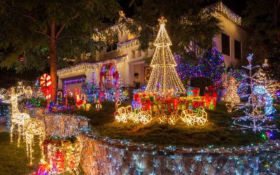 Best Places to View the Christmas Lights in California